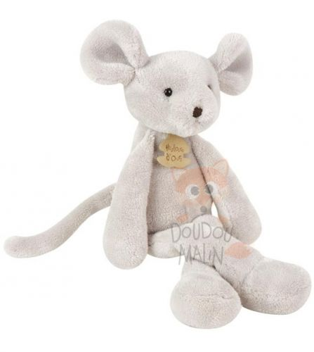 peluche sweety souris grise