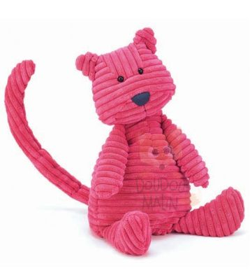 cordy roy peluche chat rose