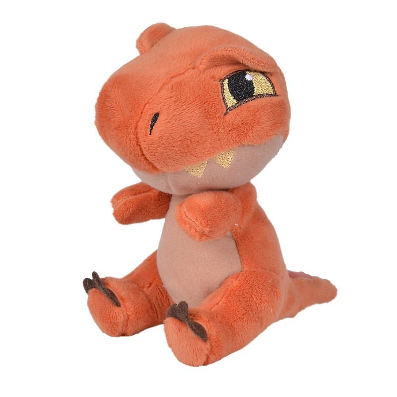 Universal jurassic world peluche dinosaure t-rex orange 18 cm