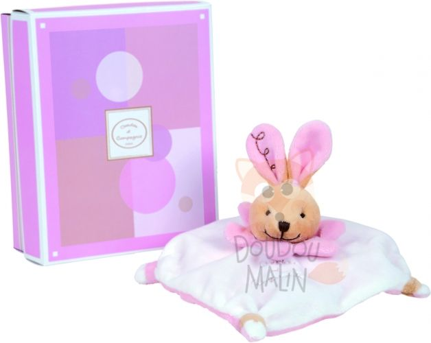 collectors acidulé lapin rose blanc plat carré