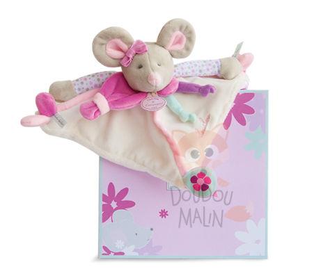 doudou et compagnie doudou et compagnie pearly la souris doudou b b. Black Bedroom Furniture Sets. Home Design Ideas