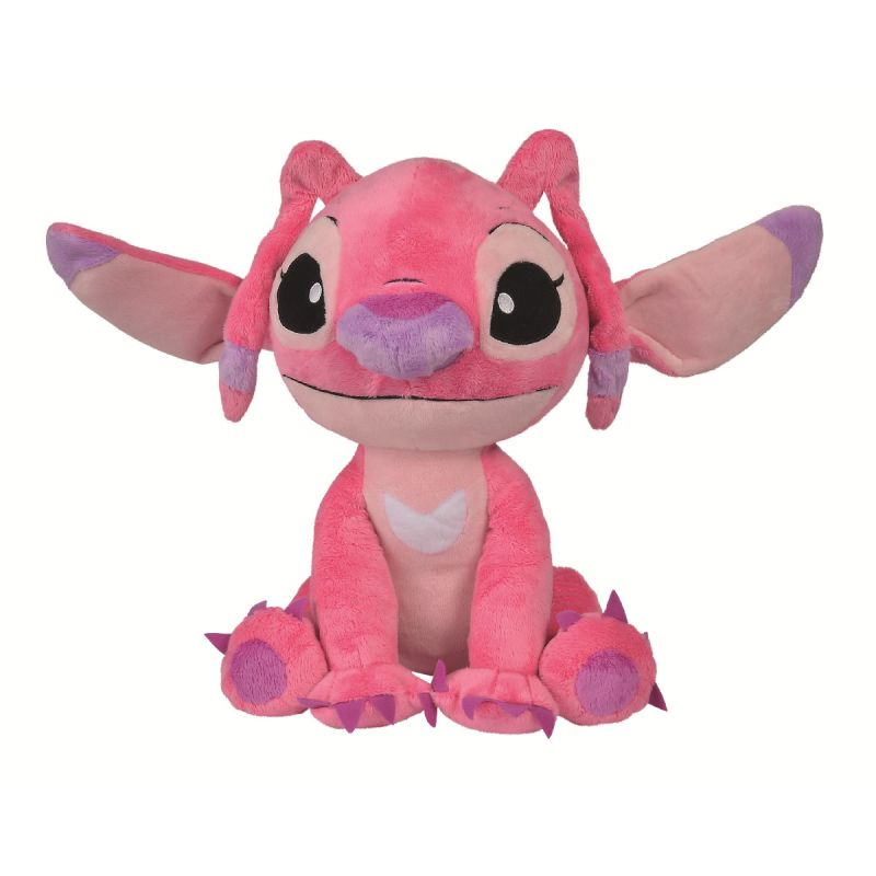peluche stitch angel rose 50 cm