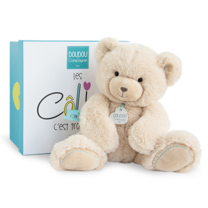 - unicef peluche ours beige 30 cm
