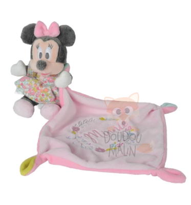 minnie souris mouchoir liberty rose fleur