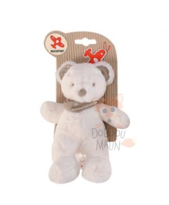 Nicotoy Mon ami Teddy Soft toy Bear White