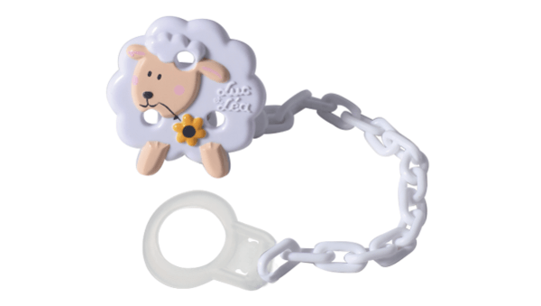 - attache-sucette mouton fixation universelle