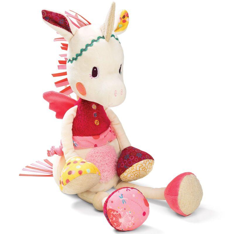 b4f4fc38b3ba2 louise the unicorn musical night ligth pink beige. Lilliputiens ...