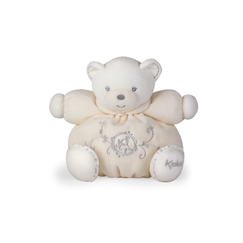 perle peluche ours beige 18 cm