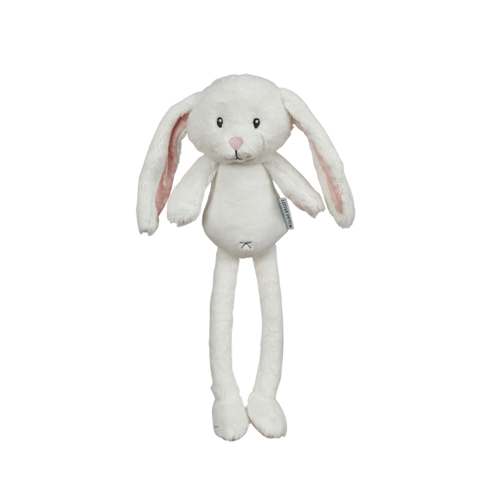 adventure peluche lapin rose 40 cm