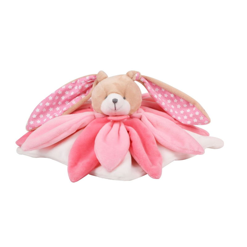 - collector plat lapin rose étoile