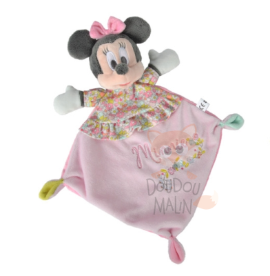 minnie souris plat liberty rose fleur