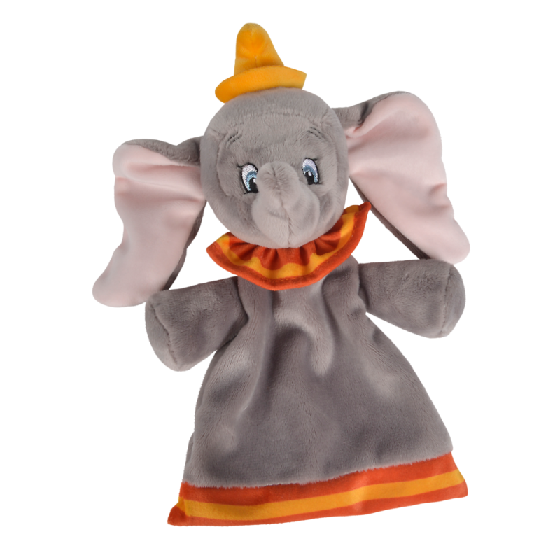 dumbo léléphant plat gris orange jaune