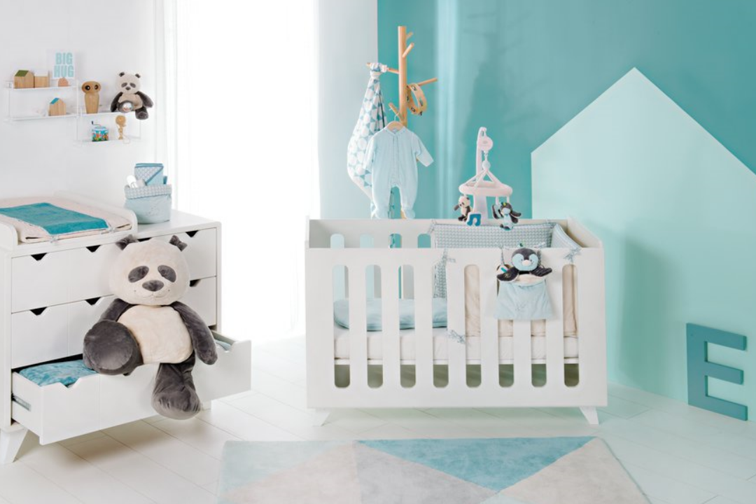d coration chambre de b b ambiance pastel. Black Bedroom Furniture Sets. Home Design Ideas