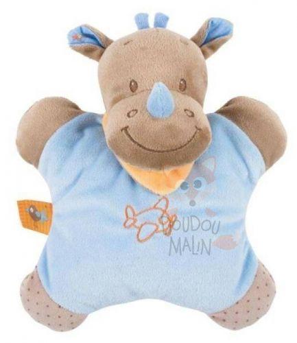 Nattou Arthur & Louis Soft toy Rhinoceros Brown