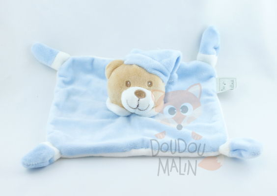 autre baby comforter bear blue. Black Bedroom Furniture Sets. Home Design Ideas
