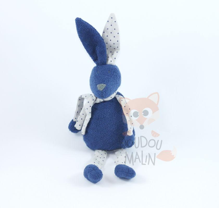 682e366cfd6 baby comforter rabbit blue grey star