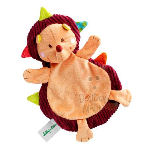 c7da29b8394ff simon the hedgehog baby comforter yellow