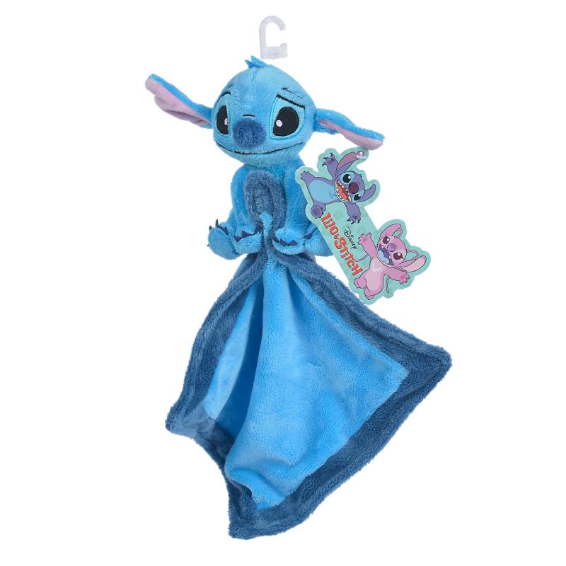 Doudou Malin Disney Stitch comforter blue 40 cm