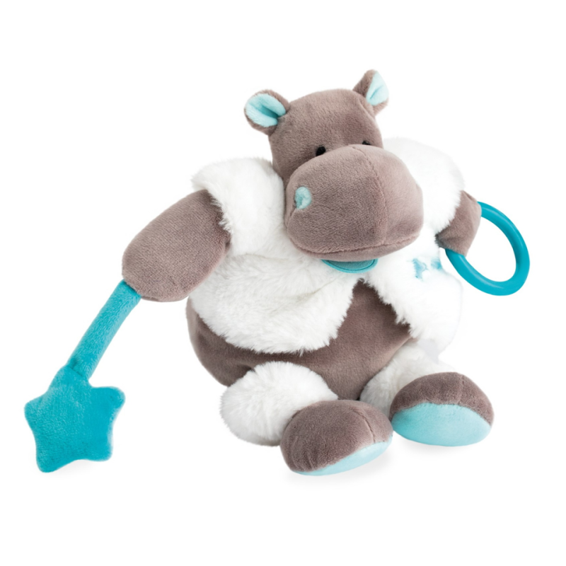 Baby Nat Mobile Musical Bazille mon Petit Hippo
